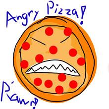 choi game Bánh Pizza nổi loạn
