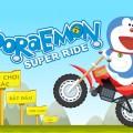 Game Doremon lai xe dia hinh, choi game Doremon lai xe dia hinh