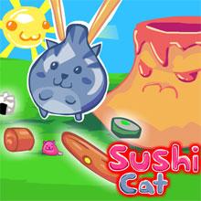 choi game Mèo sushi