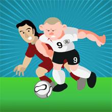 choi game Rooney nóng tính